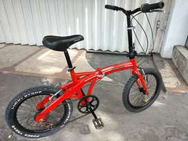 Sepeda lipat mantap ukuran 20'' normal