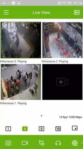 Ready Cctv Promo 4 Camera 2mp bos!!Kwalitas istimewah bos.