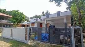 5.75 cent 1200 sqft 3 bhk new build at Aluva paravur road thattampady
