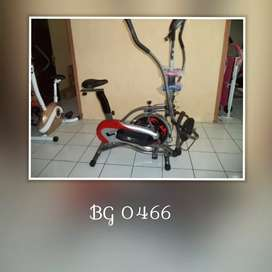 Sepeda Statis Orbitrack Bike // Rabu Gym 04.30