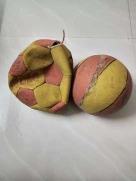 Two footballs