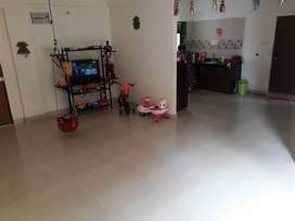 2 BHK flat with Gym, Club house, Play garden, 24 security
