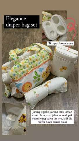 Elegant baby diaper bag
