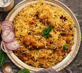 Cook required for chicken paratha and biryani