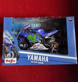 Diecast Motogp Maisto Skala 1:10 Yamaha Movistar 2016