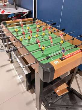 """Soccer game table 48"""" brown"""