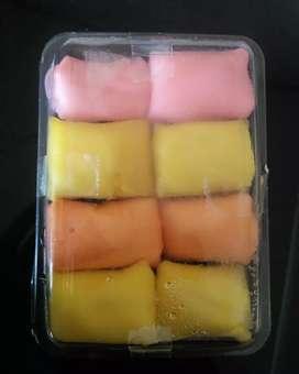 Pancake durian mini isi 8