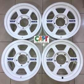 Velg TE37X Original Wheels (utk Katana Jimny Taft Escudo Vitara)
