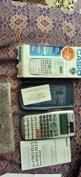 Casio scientific calculator new box peace