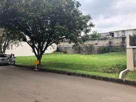 Tanah Bintaro Jaya Sek 9. Lingkungan elite dengan Gerbang/gate masuk