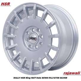 Velg Mobil Murah Hsr R15 Model RALLY HSR Cefiro, Evalia, Grand Livina,