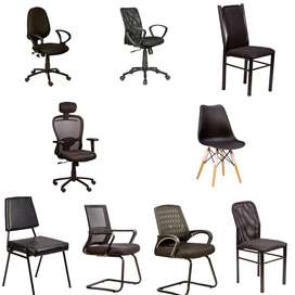 ALL MODELS OF CHAIRS WITH  ONE YEAR GUARANTEE AND SERVICE