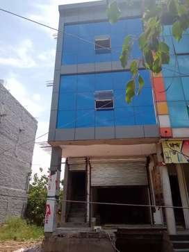 Showroom (15*60) 4and half story for sale in dhakoli Zirakpur