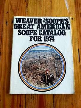 Katalog Scope Antik Weaver-Scope's USA thn 1974