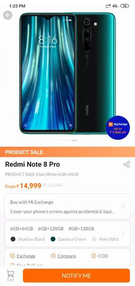 Redmi note 8pro new pack