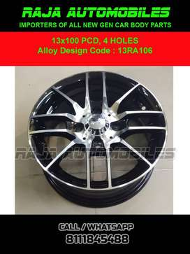 13 Inch Alloy 13RA106 Set of 4 pce