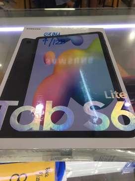 Samsung tab s6 lite 4/128 baru