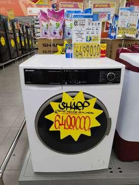 Mesin Cuci Front Loading Sharp Cicilan tanpa kartu kredit