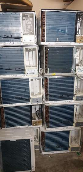 Split and window ac available