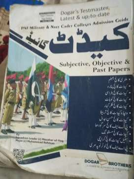 New book is Rs 1000 ki multi hy hy Cadet guide by Dogar brother