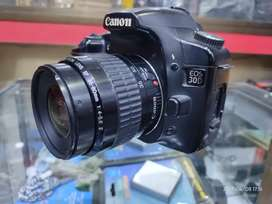 Canon 30d with 35-80mm lens