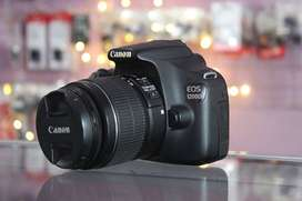 Canon 1200D Kit 18-55mm IS II Mulus Mantap Bos