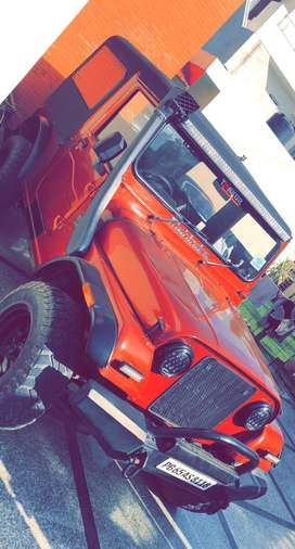 Mahindra Thar with a great condition