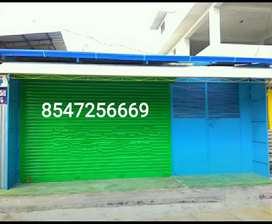 For Rent 700 square ft commercial space with multipurpose gated shed