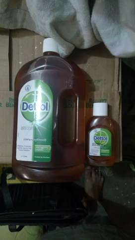 Dettol Antiseptic 100ml and 1Ltr at wholesale rate