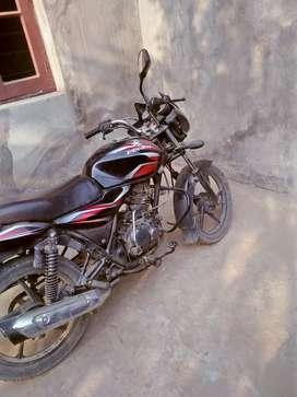 Its bike bajaj discover and its very good