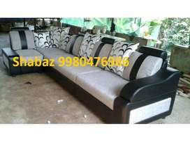 PL26 Corner sofa set with 3 years warranty Cal us