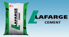 JOINING AVAILABLE FOR LAFARGE CEMENT FOR FULL TIME JOBS