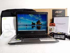 Laptop Acer E5 476G ci5 gen 8 VGA NVIDIA MX130 2 GB DDR5