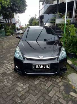 Dijual Toyota Wish AT/CBU 2006 Hitam Metalik