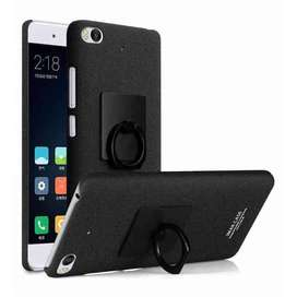 AyooDropship - Imak Contracted iRing Hard Case for Xiaomi Mi5s - Black