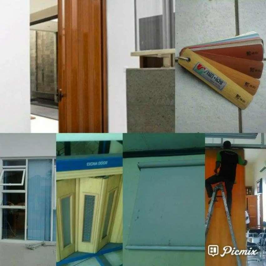 Folding door bandung partisi ruangan yang elegan 0
