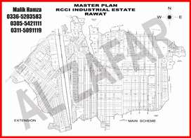 Commercial plot for sale in rawat industrial estate