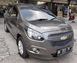 CHEVROLET SPIN LT 1.2 MT MANUAL TH 2014 abu abu mulus siap pakai