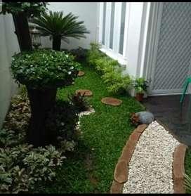 Ahli Tukang taman ,jual rumput gajah mini dan jepang dan tanaman hias