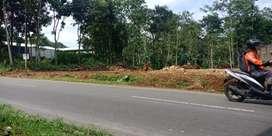 Di kontrakan tanah super strategis luas 1500 meter SHM di Salatiga