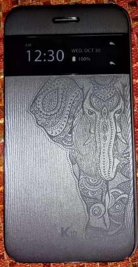 Lg k10 2017 ganesh foldable cover