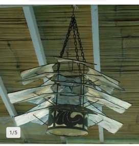 Iron+Shell Lamp cup 55cm
