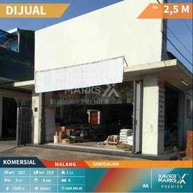 Dijual Rumah dan Bangunan Komersiil Pojokan daerah Sawojajar