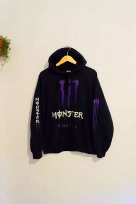 Hoodie monster energy size L fit XL