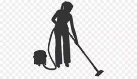 Staff untuk bersih bersih villa