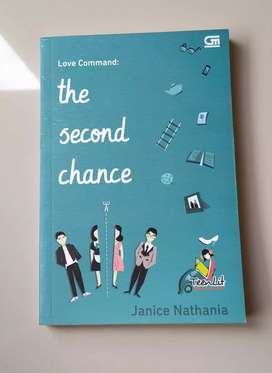 Novel Preloved : Love Command The Second Chance by Janice N