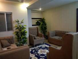 Brand New Furnished Flat in Qj Heights Bahria Town