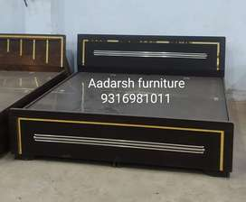 Brand new 6*6 king size bed with storege (rakhi y)