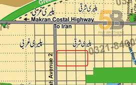 Commercial land for sale in Gwadar