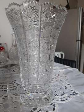 Jual vas bunga kristal Bohemia 500pk